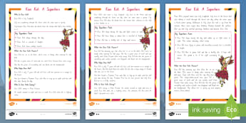 Kiwi Kid: A Superhero Differentiated Reading Comprehension Activity - new zealand, story, hero, superpower,