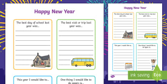 Happy New Year SEN Activity Sheet - happy new year, sen, activity, sheet, worksheet