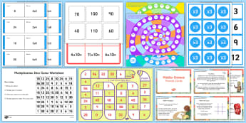 Times Tables Games - KS2, Maths, games, times, x, 2x, 3x, 4x, 5x, 6x, 7x, 8x, 9x, 10x, independent, group, golden time