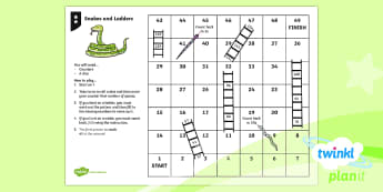 PlanIt Maths Y2 Number and Place Value Counting in Steps Snakes and Ladders Differentiated Home Learning Tasks - multiples, steps of, count, jump, mastery, maths, homework, numbers, counting in 2s, counting in 5s,