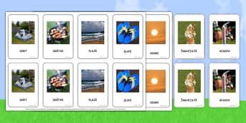 Fotografii de vara, Joc de memorie -  comunicare