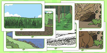 Bear Hunt Story Sequencing - We're Going on a Bear Hunt, Michael Rosen, resources, swishy swashy, Bear Hunt, Bear Hunt Story, splash splosh, thick oozy, deep dark cave, family, journey, story, story book, story book resources, story