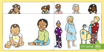 My Family Threading Cut-Outs - EYLF, Australian, early childhood, early years, kindergarten, pre-primary, nursery, pre-school, kind