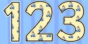 Queen Victoria Themed Display Numbers - queen victoria, display numbers, themed number, classroom numbers, numbers for display, classroom display, numbers