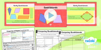 PlanIt Maths Y4 Properties of Shapes Lesson Pack Geometric Shapes (2)