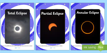 Solar and Lunar Eclipse Display Photos - display, photos, photo, set of photos, phases of the moon, solar, lunar, eclipse, phases of the moon display photos, solar and lunar display photos, photos for display, classroom display