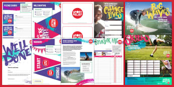 Sport Relief 2018 Secondary Resource Pack - sport relief, fund raising, sport, raise money, step challenge,