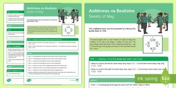 Aoibhneas na Bealtaine / Sweets of May Céilí Dance Step-by-Step Instructions - ROI - Irish Language Week Gaeilge Resources - 1st-17th March, Seachtain na Gaeilge, dance, céilí d