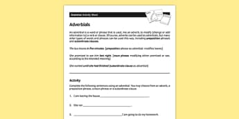 Ks3 Grammar Teaching Resources Page 4