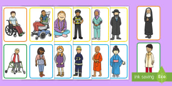People Around the World Flashcards -  People Around the World Flashcards - world, people, faith, countries, multicultural, diversity, cha