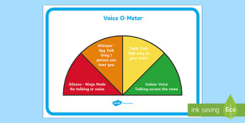 Semi-Circle Noise-O-Meter Display Poster - Noise Monitor Display Poster - noise, monitor, display, poster, class duty roster