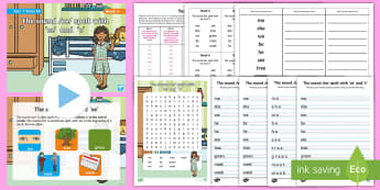 Year 1 Term 1B Week 4 Spelling Pack - Spelling Lists, Word Lists, Autumn Term, List Pack, SPaG