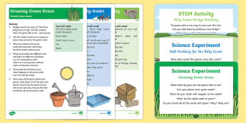 EYFS Three Billy Goats Gruff Science Experiments EYFS Resource Pack