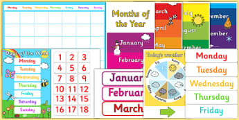 Ready Made Calendar Display Pack - ready made, display, pack