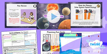 Science: Earth and Space: The Planets Year 5 Lesson Pack 2