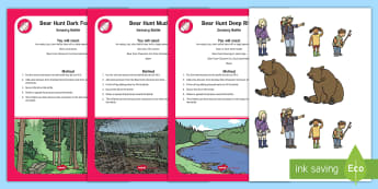 Bear Adventure Sensory Bottle Resource Pack - EYLF, bear hunt, Australia, SEN, play, story books, sensory, preschool, nursery, birth to Twos, Home
