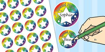 Special Helper Badges - special, helper, badges, special helper