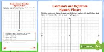 Coordinates in Four Quadrants