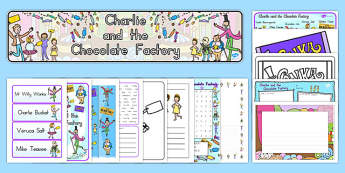Resource Pack to Support Teaching on Charlie and the Chocolate Factory - australia