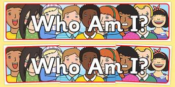 Who Am I Display Banner - who am i, IPC display banner, who am i IPC, who am i display banner, who am i display, who am I IPC display banner