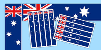 Australia Flag Display Borders - display, dispaly border, border, australia flag, australia display flag, australia borders, australian flag display borders, classroom display border, border for a display, edging, display edging