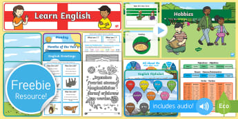 Free English and German Taster Resource Pack - freebie, sample, bumper, test, try, tester,