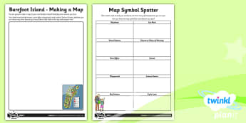 Geography: Magical Mapping Year 2 Unit Home Learning Tasks