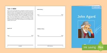 'Half-Caste' by John Agard Poet Study Pack  - poet study, John Agard, Half-Caste, poetry anthology, GCSE poetry, EDEXCEL, OCR