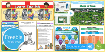 Free English, French and German Taster Resource Pack - Freebie, Sample, Taste, Test, Tester, Try, Bumper, Learning