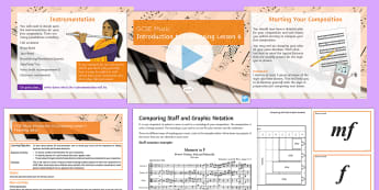 Introduction to Composing for GCSE Music Lesson 6 - Music, Secondary, KS4, Composing, GCSE