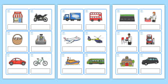 Editable Everyday Objects Out and About Cards - editable, everyday objects, out and about, editable cards, editable, cards, editable cards, english