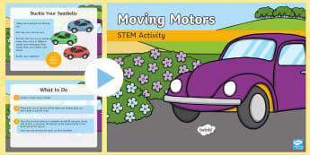 Moving Motors STEM PowerPoint - Make a Move!, STEM Science, Movement and Energy, Wind Forces Experiment