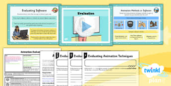 Computing: Animation: Evaluation Year 4 Lesson Pack 6