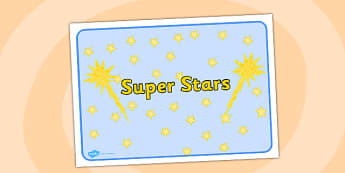 Super Stars Group Sign - group, sign, super, stars, super stars