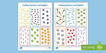 Fractions of Quantities and Amounts - KS1 Maths Resources