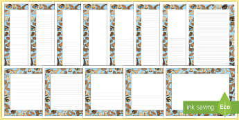 Pack de bordes: Mi cuerpo - Mi cuerpo, proyecto, conocimiento de mí mismo, pautas, escritura, escribir,Spanish