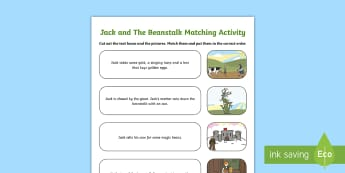 Jack and the Beanstalk Sequencing Activity Pack - German, Fairy Tales, Jack and the Beanstalk, Märchen, Activity Sheet, Sequencing, worksheet