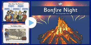 All About Bonfire Night PowerPoint KS2 - Guy Fawkes, fireworks, year 3, year 4, year 5, year 6