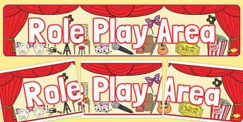 Role Play Display Banner - role-play, display banner, display, banner