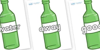 Next 200 Common Words on Green Bottles - Next 200 Common Words on  - DfES Letters and Sounds, Letters and Sounds, Letters and sounds words, Common words, 200 common words
