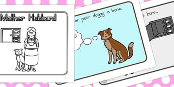 Old Mother Hubbard Story Sequencing - australia, story, hubbard