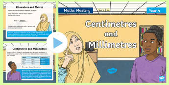 Year 4 Converting Measures Maths Mastery PowerPoint - Reasoning, Greater Depth, Abstract, Problem Solving, Explanation,
