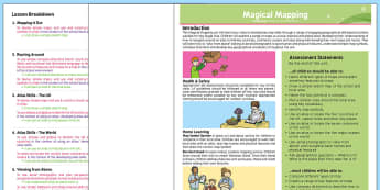 Geography: Magical Mapping Year 2 Planning Overview