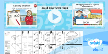 PlanIt Maths Y4 Number and Place Value Lesson Pack Different Representations (1)