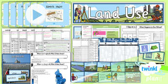 Geography: Land Use Year 3 Unit Pack