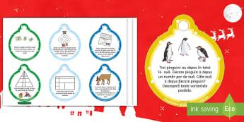Globuri de Crăciun - Probleme ilustrate