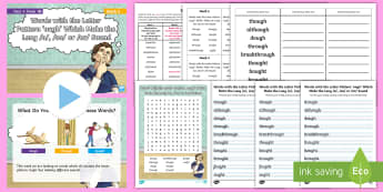 Year 4 Term 1B Week 5 Spelling Pack - Spelling Lists, Word Lists, Autumn Term, List Pack, SPaG