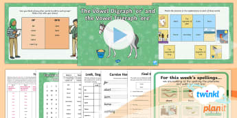 PlanIt English Y1 Term 3A W3: Vowel Digraph 'or' and Vowel Trigraph 'ore' Spelling Pack - Spellings Year 1, Term 3A, W3, vowel, digraph, trigraph, or, ore