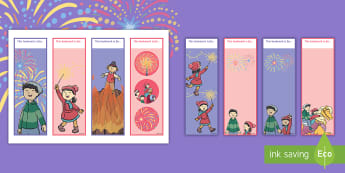 Sparks in the Sky Editable Bookmarks - Twinkl Originals, Fiction, book mark, reading, reward, fireworks, bonfire night, sparkler
