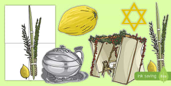 Sukkot Display Cut Outs